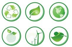 Green symbols Royalty Free Stock Photo