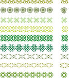 Green symbols Royalty Free Stock Photography