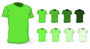 Green t shirt Royalty Free Stock Images