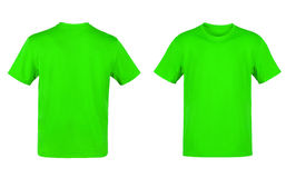 Green T-shirt Royalty Free Stock Photos