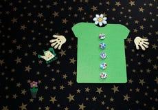 Green T-shirt Royalty Free Stock Image