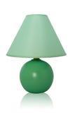 Green Table lamp Royalty Free Stock Photos