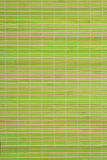 Green table place mat Royalty Free Stock Photography
