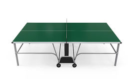 Green Table Tennis Royalty Free Stock Photography