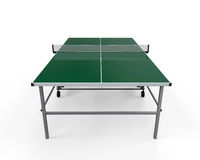 Green Table Tennis Stock Photos