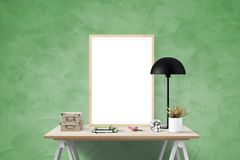 Green, Table, Wall, Furniture Royalty Free Stock Photography