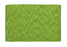 Green tablecloth Stock Image