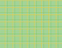 Green tablecloth checkered pattern Royalty Free Stock Photo