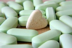 Green tablets Royalty Free Stock Photo