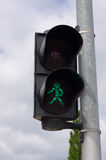 Green taffic light Royalty Free Stock Image