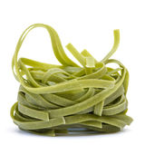 Green Tagliatelle Royalty Free Stock Photo