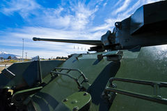 Green tank - New Zealand Royalty Free Stock Photos
