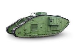 Green tank Stock Photo