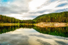 Green tarn nature reserve Royalty Free Stock Photography