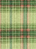 Green tartan. Royalty Free Stock Images