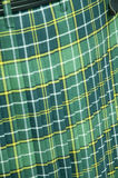 Green Tartan Kilt Stock Photos