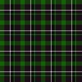 Green Tartan Seamless Pattern. (green, black and white Royalty Free Stock Photos