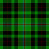 GREEN TARTAN SEAMLESS PATTERN Stock Photography