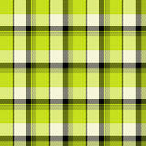 Green Tartan Seamless Pattern Royalty Free Stock Image