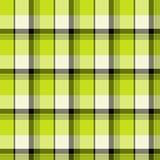 Green Tartan Seamless Pattern Royalty Free Stock Image