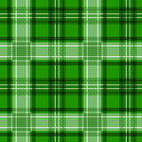 Green tartan texture. seamless pattern. Royalty Free Stock Photography