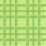 Green tartan texture. Vector seamless pattern. Stock Photography