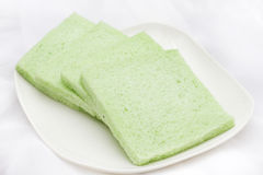 Green Tasteless Bread. Suited for people in sugar diet Stock Photography