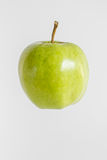 Green tasty fresh apple Stock Images