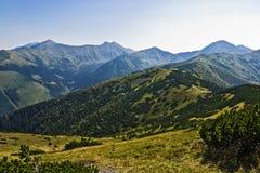 Green Tatra mountain Royalty Free Stock Photos