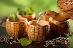 Green tea Stock Image