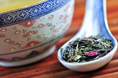 Green tea Stock Images