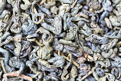 Green tea background Stock Image
