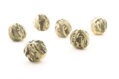 Green tea balls Stock Image