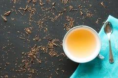 Green tea bancha Royalty Free Stock Image