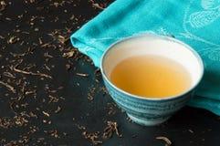 Green tea bancha Royalty Free Stock Photo