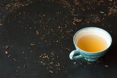 Green tea bancha Stock Images