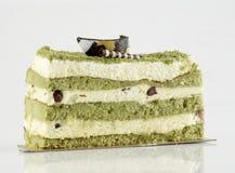 Green tea cake Stock Photography