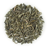 Green tea China Chun Mee Organic Royalty Free Stock Photography