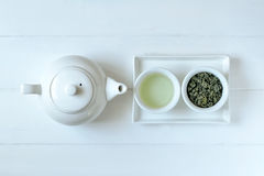 Green tea concept Stock Photography