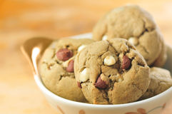 Green tea cookies Royalty Free Stock Image