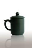 Green tea cup Stock Photos