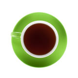 Green tea cup Stock Image