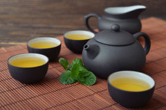 Green tea Stock Photo