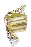 Green Tea Dessert Cake Stock Photos