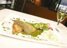 Green Tea Fish Stock Images