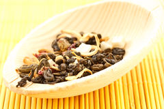 Green tea flavored Royalty Free Stock Photo