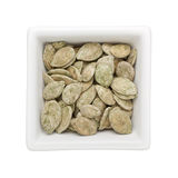 Green tea flavored roasted pumpkin seed Royalty Free Stock Image