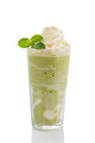 Green tea frappe Stock Photography