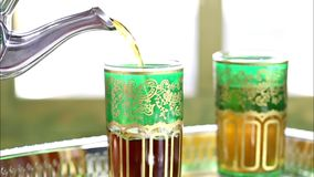 Green Tea stock footage