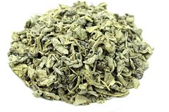 Green Tea Gunpowder Indonesia Stock Photo